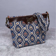 Load image into Gallery viewer, Carpet Crossbody Bag<br>Traditional Blue
