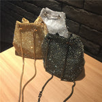 Diamond Vintage Crystal Design Evening Bag