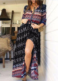 Women Long Bohemian Maxi Dresses