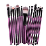15Pcs Makeup Brushes Set