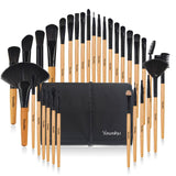 32Pcs Makeup Brush Set With Bag