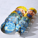 The New Van Gogh Art Painting Tea Cups