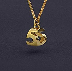 14k Gold Mini Necklace