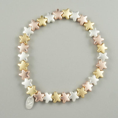 3-Colour Gold Bracelet