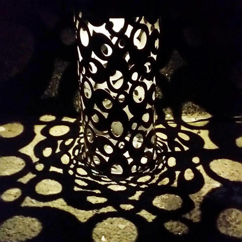 Rings Shadow Lantern
