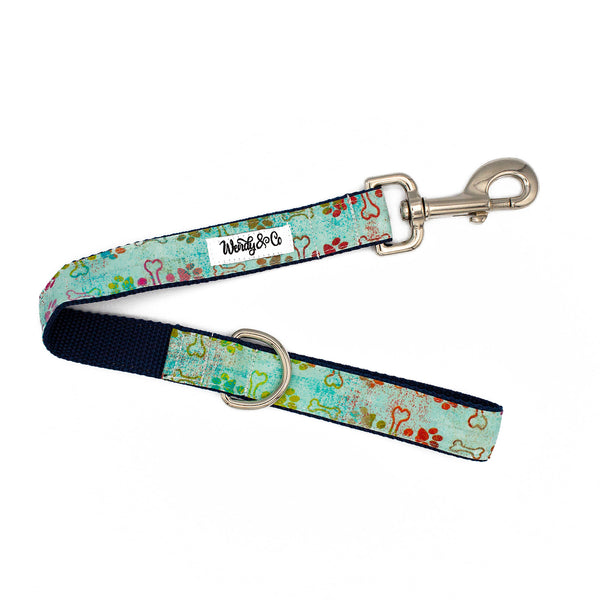 Mint-n-Navy Leash