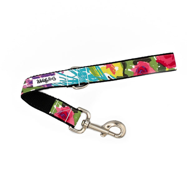 Bright Watercolor Leash