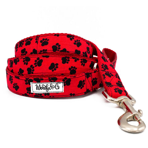 Red Paws Leash