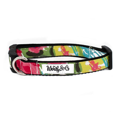 Bright Watercolor Collar