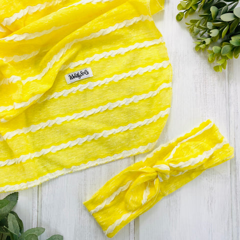 Canary Yellow Swaddle Set