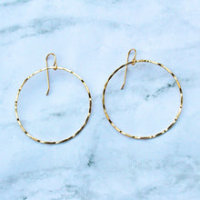 Load image into Gallery viewer, Susannah Gold Hoops