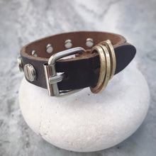 Load image into Gallery viewer, Lalani Genuine Leather Cuff