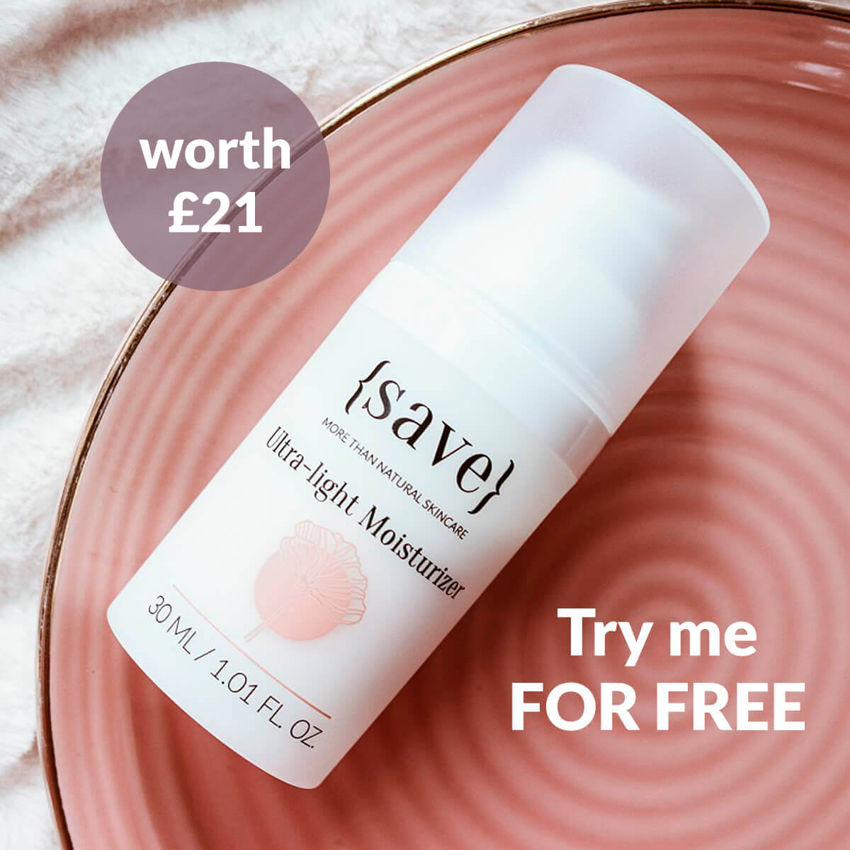 Ultra-light Moisturizer travel size