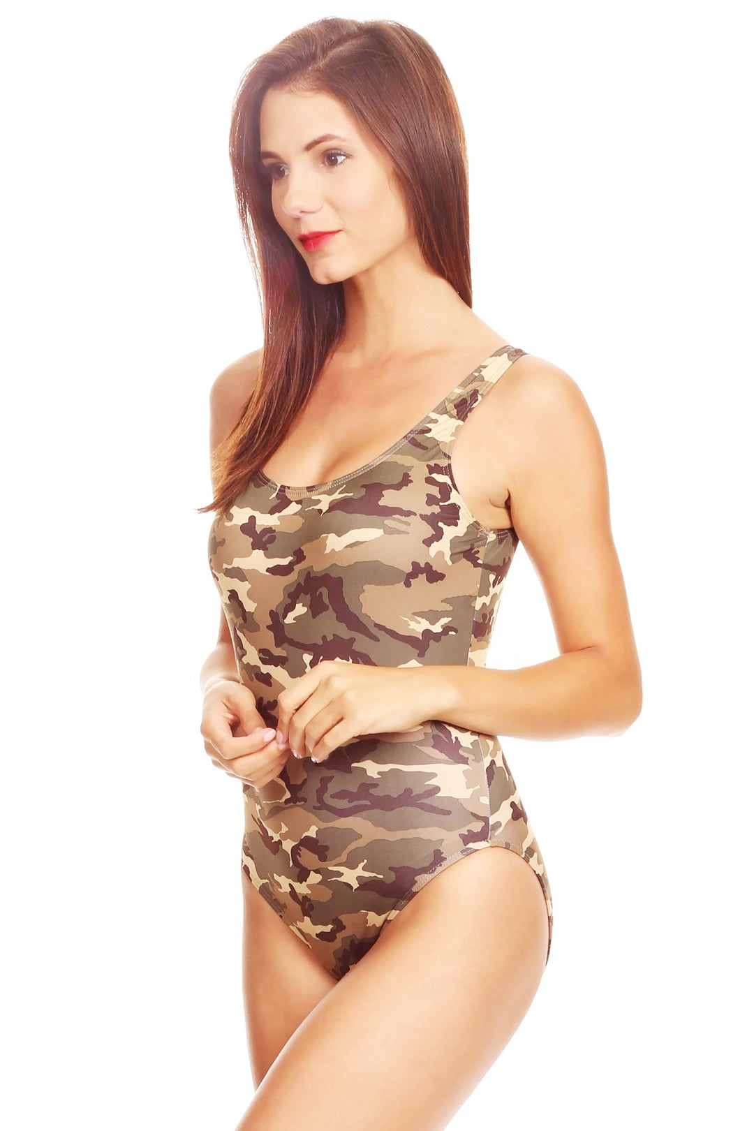 Women's One-piece Camo Bikini Is in Fashion Nowadays