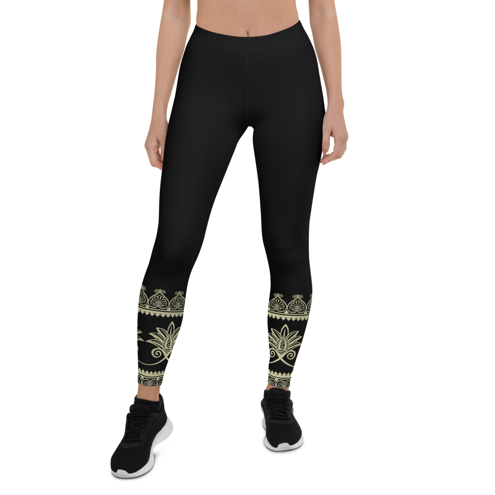 Prana Black All Over Womens Yoga Leggings