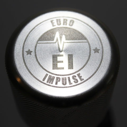 Shift Knobs - EURO IMPULSE WEIGHTED BILLET SHIFT KNOB- SILVER