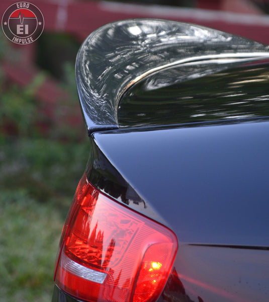 SPOILER - Audi B8/B8.5 Rear Carbon Fiber High Kick Spoiler