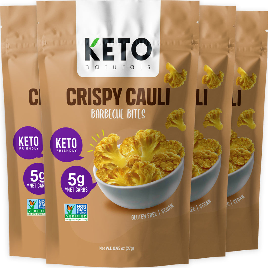Keto Cauli Chips, Barbecue (Pack of 4).
