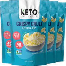 Load image into Gallery viewer, Keto Cauli Chips, Sea Salt (Pack of 4).