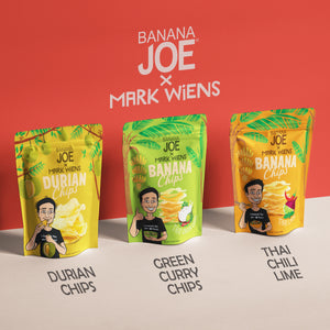 Mark Wiens Durian Chips, 4-Pack.