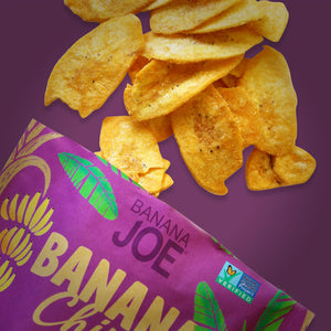 Sriracha Flavored Banana Chips (Pack of 6)