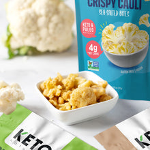 Load image into Gallery viewer, Keto Cauli Chips, Sea Salt (Pack of 3).