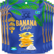 Load image into Gallery viewer, Sea Salt Flavored Banana Chips (Pack of 6)