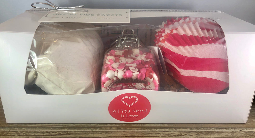 Cupcake Mix Gift Box - All You Need Is Love