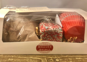 Cupcake Mix Gift Box - Braves Spirit