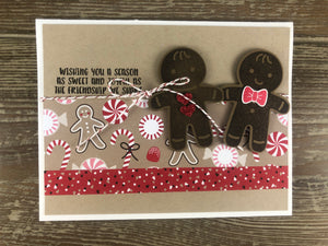 Greeting Card - Gingerbread Holiday