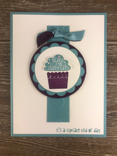 Greeting Card - Cupcake Kind of Day