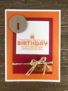 Greeting Card - Birthday Candle