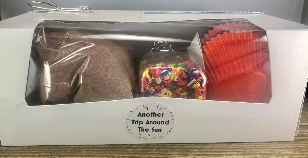 Cupcake Mix Gift Box - Another Trip Around The Sun