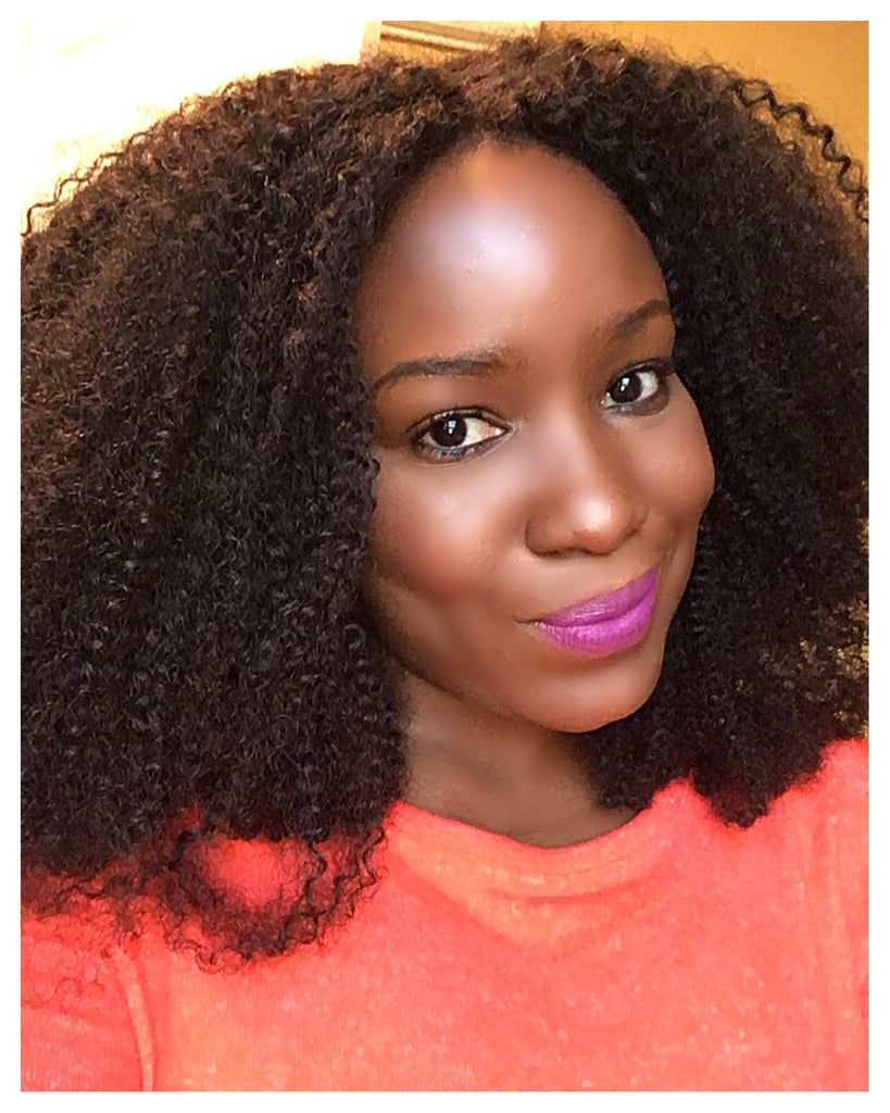 Afro Kinky Curly Weave - 4A/4B Hair Texture