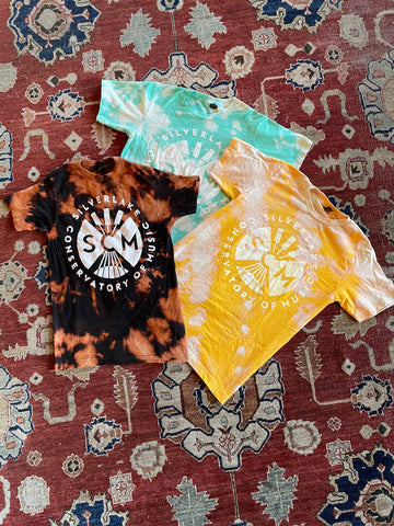 Limited Edition Bleach Dyed Shirts