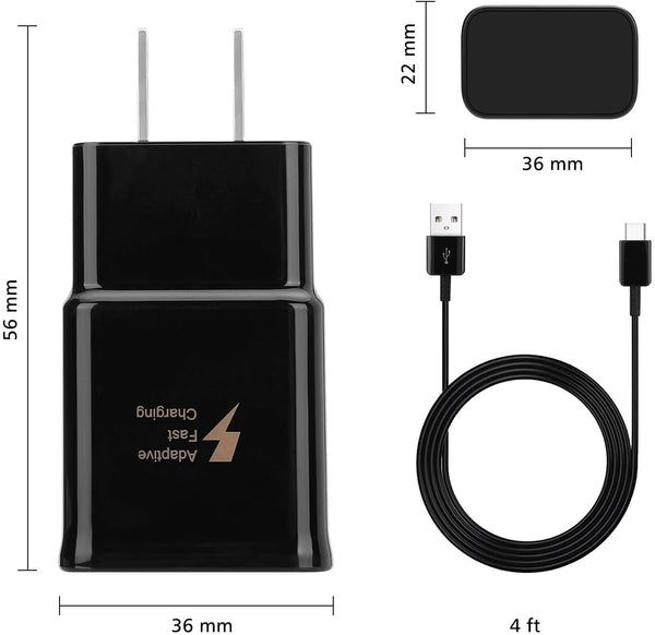 Adaptive Fast Wall Charger Adapter