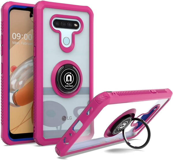2 in 1 Cell Phone Case with Kickstand for LG K51