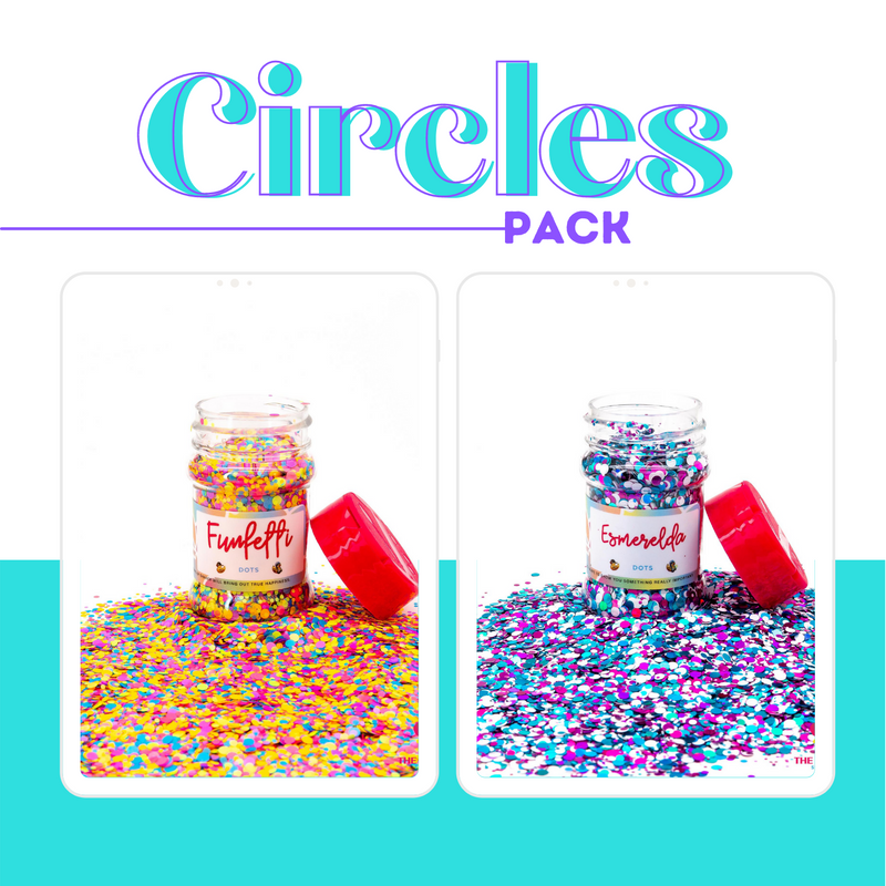 The Glitter Guy | Circles | Escarchas