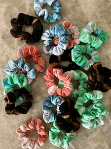 Tie Dye Lovers Scrunchie Pack 2.0