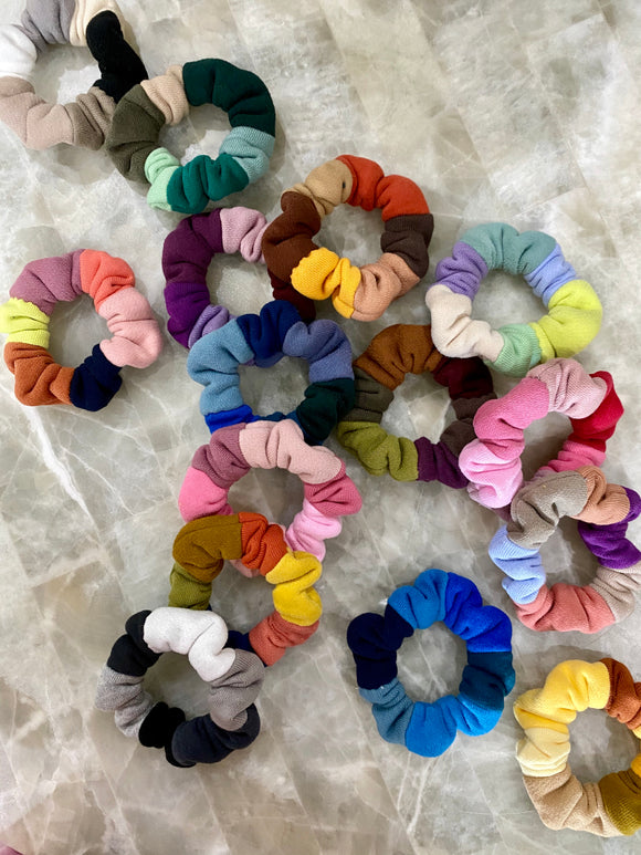 Patchwork Scrunchie 3 Pack