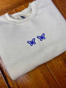 Double Butterfly Sweatshirt