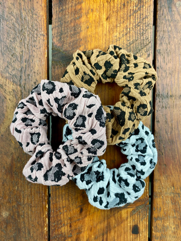 Cheetah Obsessed Scrunchie Pack