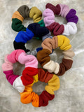 Patchwork Scrunchies