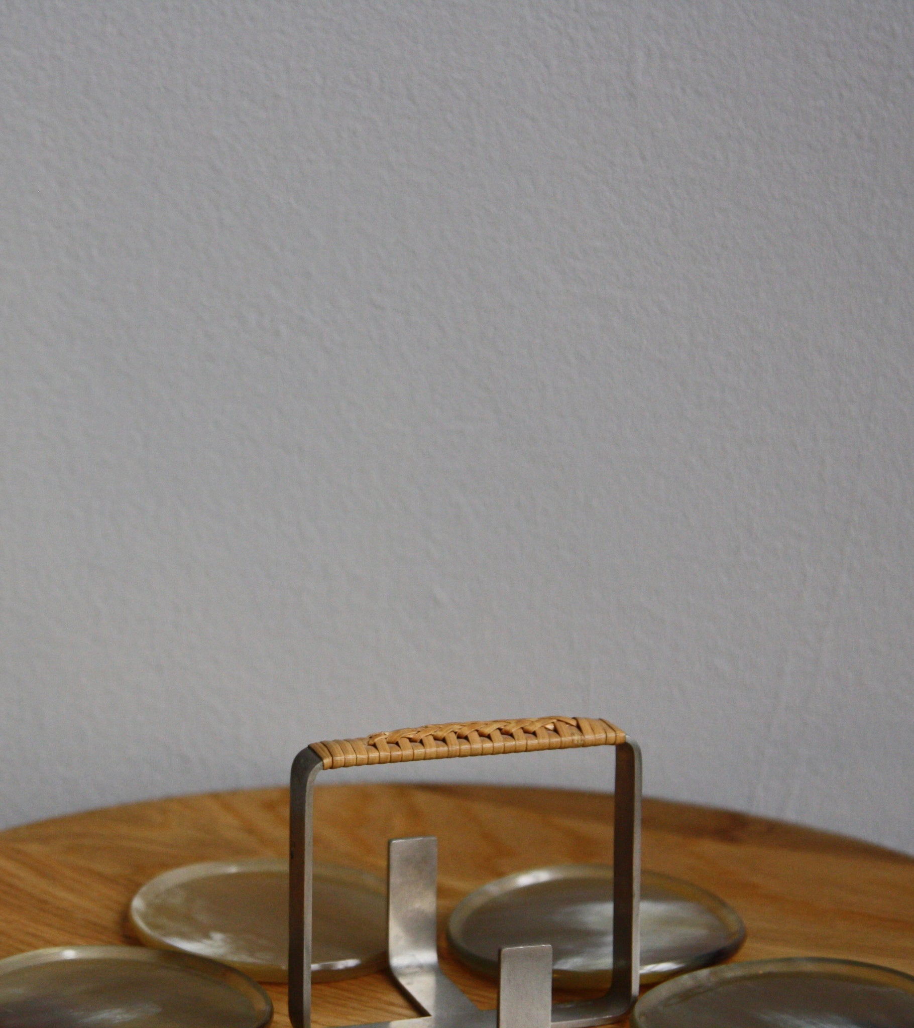 Horn Coasters in Holder Carl Auböck