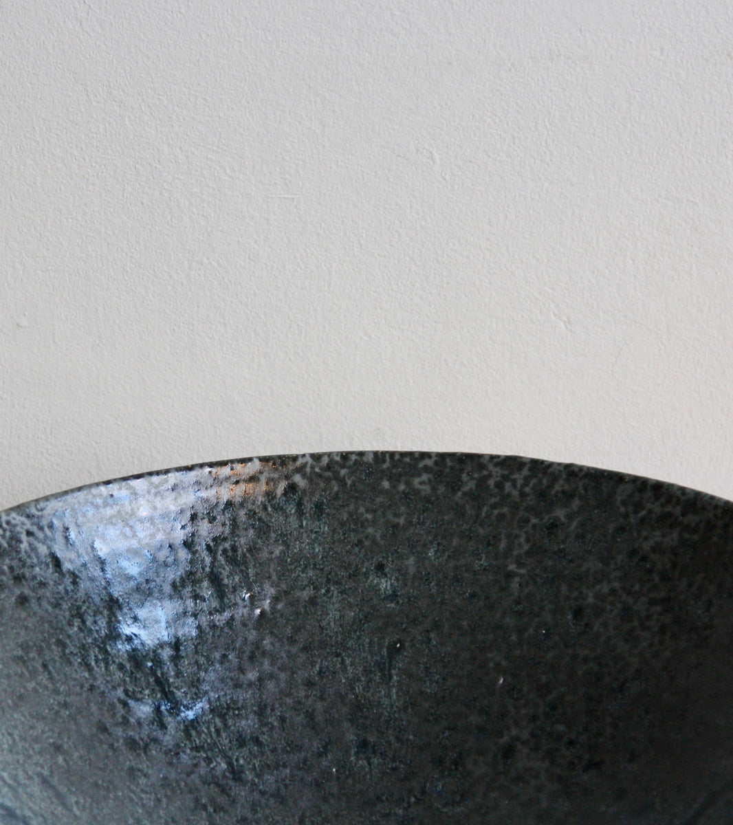 One Off Large Bowl in Black Glaze by KH Würtz