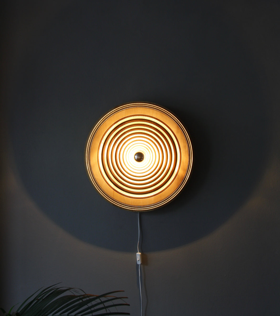 Large Carved Oak Wall Light <br> by Antonín Hepnar