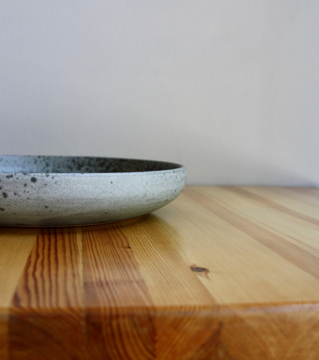 Serving Platter <br> in Grey Glaze <br> by KH Würtz <br> Shape #15