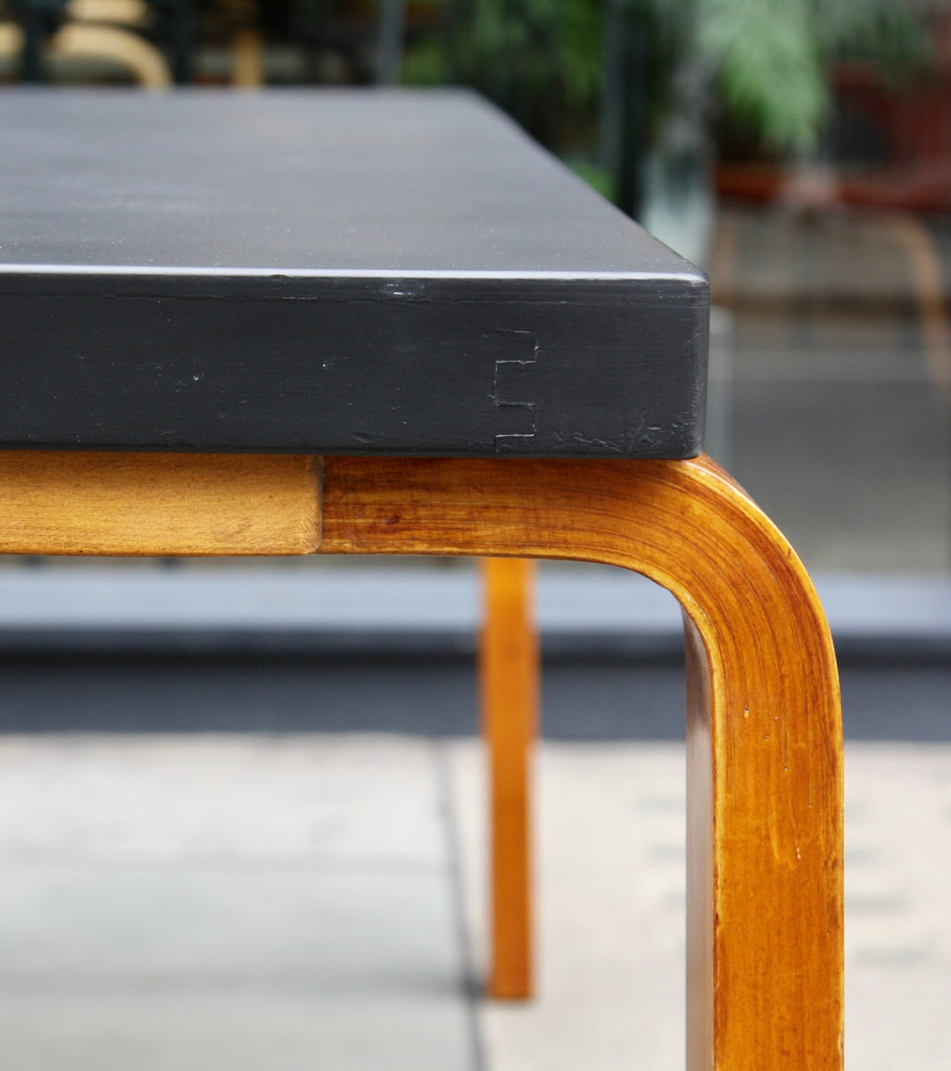 Large, Early Production, Table <br> by Alvar Aalto, 1935