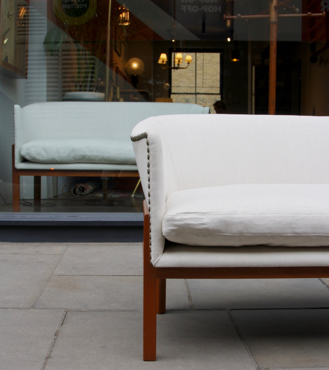 Model MK52 <br> Two-Seater Sofa 2 <br> by Mogens Koch