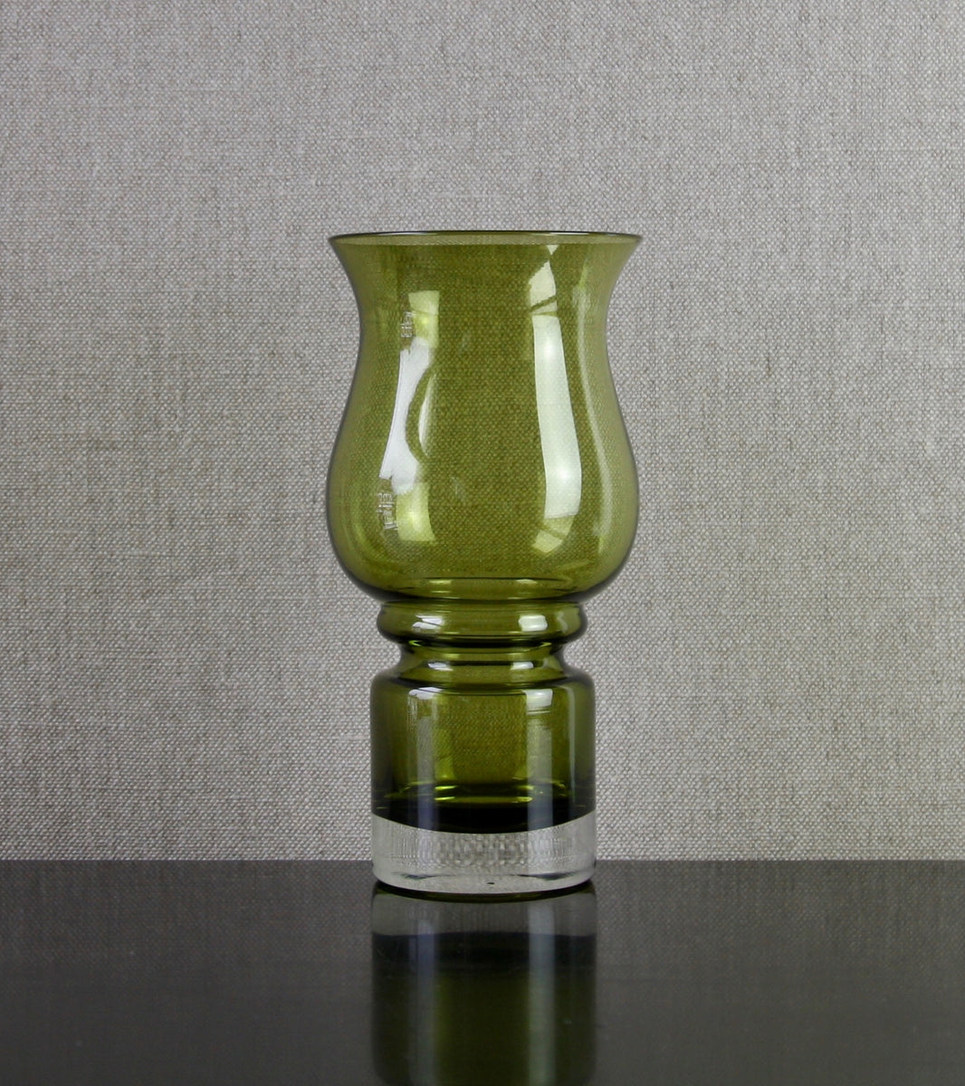 "Turn Mold Blown Model 1512 ""Tulppaani"" Vase by Tamara Aladin, 1971"